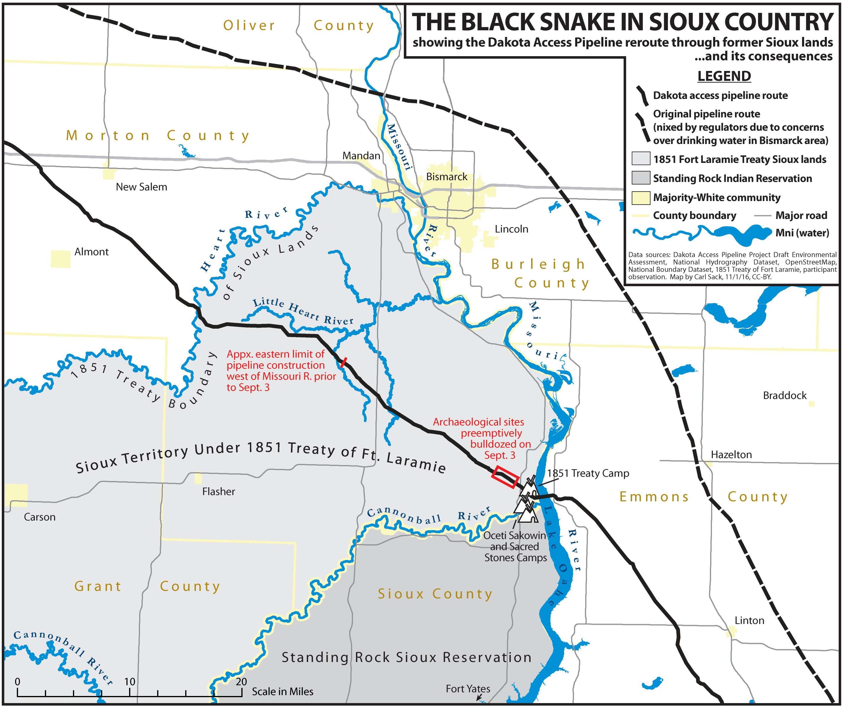 A NoDAPL Map Northlandia - Us army corps of engineers missouri hunting maps